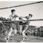 Fliegende Fäuste: In den 1960er gehörten Boxwettkämpfe zum Deutsch-Amerikanischen Volksfest. -- Bild: Archiv Kultur- und Militärmuseum Grafenwöhr