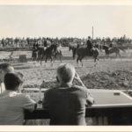 In den 1960er war auch Dressurreiten ein Teil der Veranstaltung. -- Bild: Archiv Kultur- und Militärmuseum Grafenwöhr