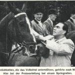 1962 besucht Boxweltmeister Max Schmeling als Unterstützer das Deutsch-Amerikanische Volksfest. -- Bild: Archiv Kultur- und Militärmuseum Grafenwöhr
