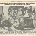 Peggy March besucht 1973 das Deutsch-Amerikanische Volksfest. Sie ist eine US-amerikanische Pop- und Schlagersängerin sowie Liedtexterin. In den USA wurde sie 1963 durch ihren Nummer-eins-Hit I Will Follow Him berühmt.. -- Bild: Archiv Kultur- und Militärmuseum Grafenwöhr