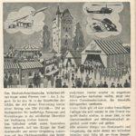 Werbeinserat aus dem Jahre 1975 für das Deutsch-Amerikanische Volksfest im Grafenwöhrer Stadtanzeiger. -- Bild: Archiv Kultur- und Militärmuseum Grafenwöhr