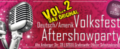 Volksfest Grafenwöhr - After-Show-Party - Das Original! Vol. 2