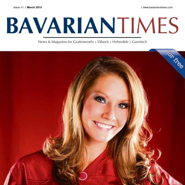 Cover Bavarian Times News & Magazine - Das Magazine für die US-Armee Garnison Grafenwöhr mit Ihren Standorten in Grafenwöhr, Vilseck, Hohenfels und Garmisch-Partenkirchen.