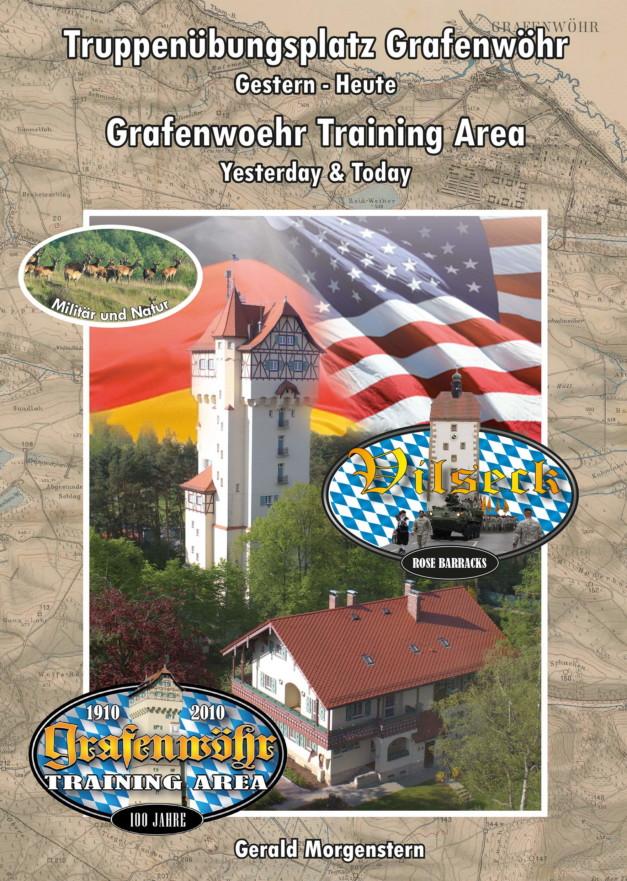 """Die Titelseite des neuen """"Trainingareabooks"""" mit dem Hinweis auf den Standort Vilseck und dem Zusatz Militär und Natur. -- Bild: Gerald Morgenstern"""