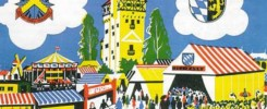 Werbemotiv des DAGA für das Deutsch-Amerikanischen Volksfest. -- Bild: Archiv Kultur- und Militärmuseum Grafenwöhr