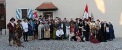 """Bunt geht es am 20. und 21. Juni zu, wenn das """"Pressather Fähnlein"""" gemeinsam mit anderen Geschichtsfreunden aus der Oberpfalz und Franken seinen 20. Gründungstag mit einem Feldlager feiert. -- Bild: Dr. Bernhard Piegsa"""