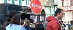 Bild: Ute Wünsch, Foodtruck Roundup in Schwabach 2015