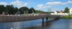 Europaweit einzigartig: die Spannbandbrücke -- © Gartenschau Tirschenreuth