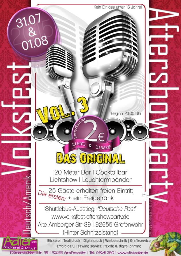 Volksfest Grafenwöhr - Aftershowparty Vol. 3 Das Original