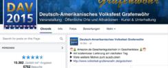 volksfest-grafenwoehr.de: Mehr als 16.500 Fans auf Facebook — Bild: Screenshot Facebook