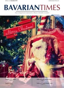 Das Cover der fünften Ausgabe des Bavarian Times Magazine / 05/2013 / Ausgabe Dezember 2013