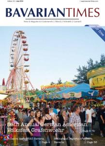Das Cover der achten Ausgabe des Bavarian Times Magazine 03/2014 / Ausgabe Juli 2014