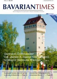Das Cover der siebten Ausgabe des Bavarian Times Magazine / 02/2014 / Ausgabe Mai 2014
