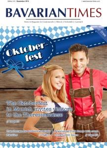 Das Cover der neuten Ausgabe des Bavarian Times Magazine 04/2014 / Ausgabe September 2014