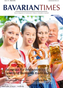 Bavarian Times Magazin – Ausgabe 01/2015 - März/April 2015 -- Photo Credit: Bavarian Times/Medienhaus Der neue Tag