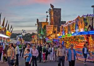 107. Bayreuther Volksfest vom 13. Mai – 23. Mai 2016. Endlich ist es wieder soweit - das populärste Volksfest in Oberfranken und eines der größten in ganz Nordbayern steht vor der Tür. -- Bild: Oliver Dannhäuser (Bayreuth)