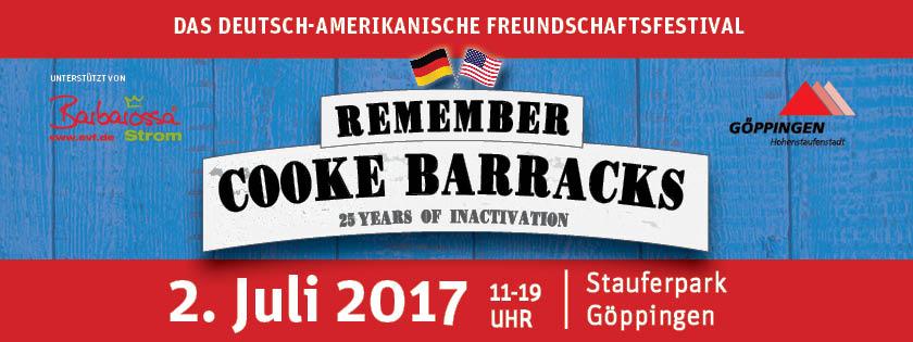 """Deutsch-Amerikanisches Freundschaftsfest """"Remember Cooke Barracks"""" in Göppingen. -- Bild: Staufen Plus -  Agentur für Kommunikation und Werbung"""