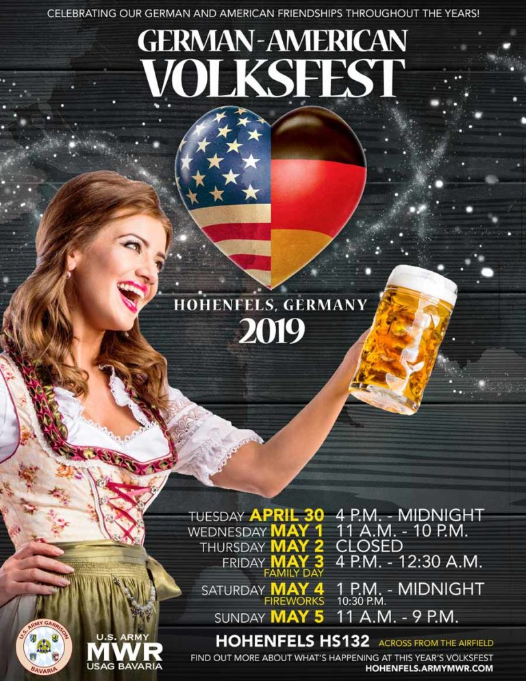 Deutsch-Amerikanisches Volksfest Hohenfels 2019 - Bild: Hohenfels Family and MWR