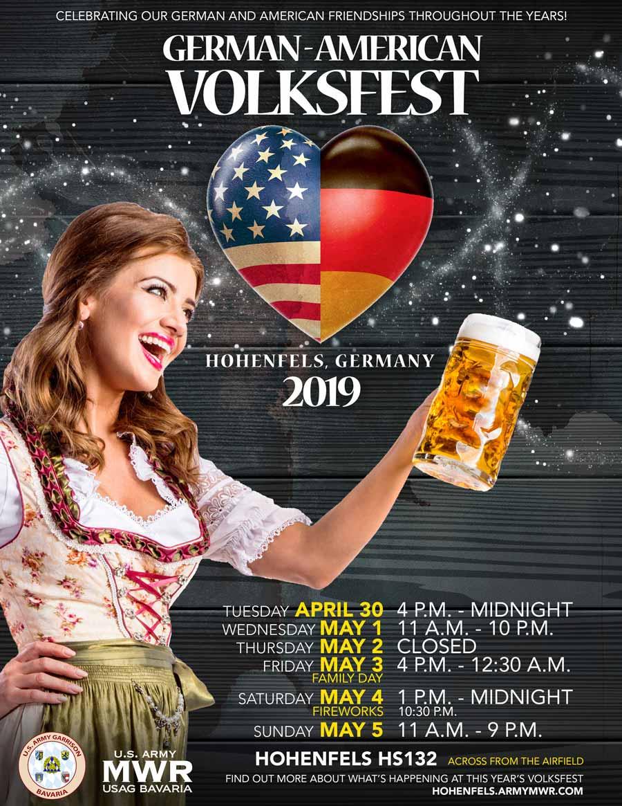 Deutsch Amerikanisches Volksfest 2021 Hohenfels