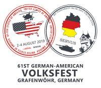 Logo des Deutsch-Amerikanischen Volksfest Grafenwöhr 2019, das Logo wurde von Grafenwoehr Family and MWR gestaltet. — Bild: Grafenwoehr Family and MWR