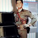 Elivs Presley als Soldat auf dem Truppenübungsplatz Grafenwöhr