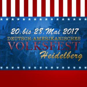 Deutsch-Amerikanisches Freundschaftsfest Heidelberg 2017 – – Bild: volksfest-grafenwoehr.de
