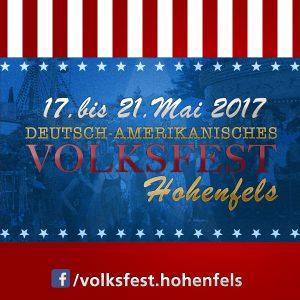 Deutsch-Amerikanisches Volksfest Hohenfels 2017 - 17. bis 21. Mai 2017-- Bild: volksfest-grafenwoehr.de