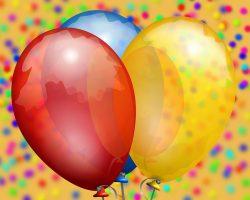 Indivdiuell bedruckte Luftballons eigenen sich für viele verschiedene Anlässe. -- Bild: maxilia.de