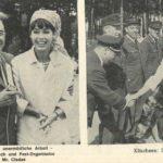 Marianne Koch und Festorganisator Mr. Cladas auf dem Deutsch-Amerikanischen Volksfest. -- Bild: Archiv Kultur- und Militärmuseum Grafenwöhr