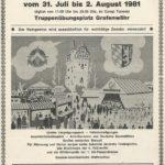 """Im Jahre 1981 gab aus auf dem Deutsch-Amerikanischen Volksfest eine """"große Lotterie"""" mit wertvollen Preisen. -- Bild: Archiv Kultur- und Militärmuseum Grafenwöhr"""