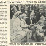 """""""Das Volksfest der offenen Herzen in Grafenwöhr"""" titelte der Neue Tag in vergangenen Jahren. -- Bild: Archiv Kultur- und Militärmuseum Grafenwöhr"""