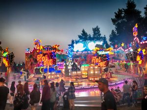 Roll Over auf dem Deutsch-Amerikanischen Volksfest Grafenwöhr 2017. -- Bild: volksfest-grafenwoehr.de