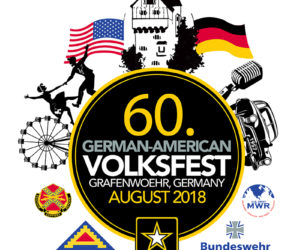 Logo des Deutsch-Amerikanischen Volksfest Grafenwöhr 2018. — Bild: US-Armee Garnison Bavaria