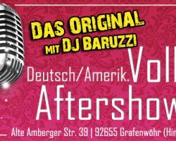 """Volksfest Grafenwöhr Aftershowparty 2017 04. und 5. August 2017, hinterm """"Schnitzlstand"""""""